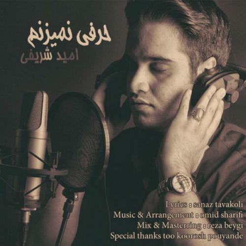 دانلود آهنگ امید شریفی حرفی نمیزنم
