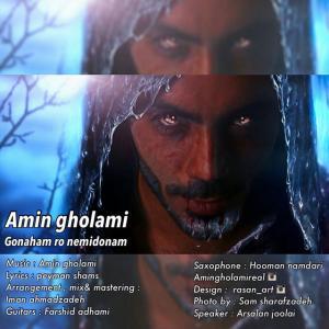 Amin Gholami – Gonaham Ro Nemidoonam