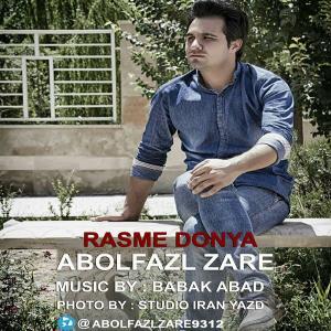 Abolfazl Zare – Rasme Donya