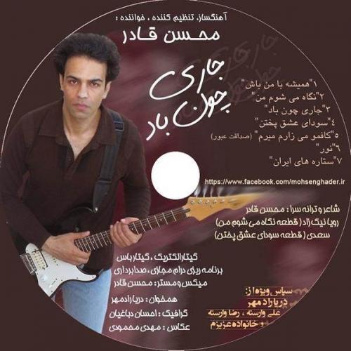 دانلود آهنگ محسن قادر ستاره ی ایران