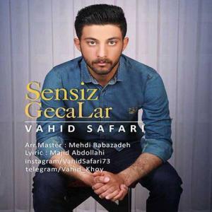 Music Vahid Safari Sensiz Gecalar