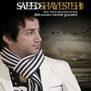 Saeed Shayesteh – Didi Ounam Tanhat Gozasht